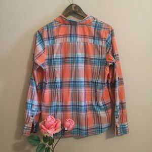 The North Face Tops - 🦋North Face Plaid Flannel Shirt🦋